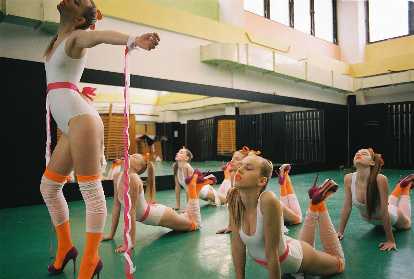 Приколы про девушек и гимнастки 13 фотография